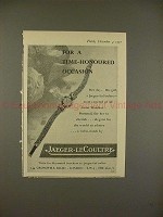 1957 Jaeger-LeCoultre Watch Ad, Time-Honoured Occasion!