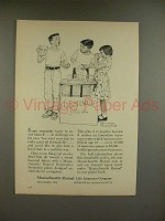 1956 Massachusetts Mutual Ad - Norman Rockwell - Every Youngster