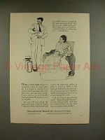 1956 Massachusetts Mutual Ad - Norman Rockwell - New Baby