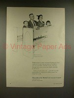1956 Massachusetts Mutual Ad - Norman Rockwell - This Season