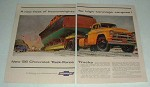1956 Chevrolet 10100 Task Force Truck Ad - Heavyweights