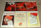 LARGE Lot of 6 Du Maurier Cigarette Ads - 1954-1982