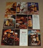 LARGE Lot of 13 Kahlua Liqueur Ads, from 1967-1999 NICE