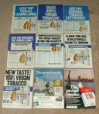 LARGE Lot of 18 L&M Cigarette Ads - 1970-1979