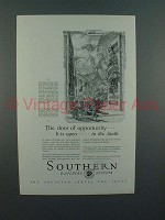 1927 Southern Railway Ad - Door of Opportunity