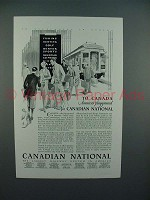 1929 Canadian National Railway System Ad - Playground