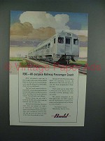 1950 Budd RDC Ad - All-Purpose Railway Passenger Coach