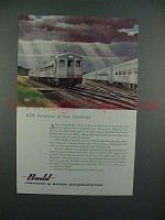 1953 Budd RDC Ad - Introduces a New Dimension