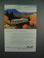 1954 Budd RDC Ad - Car for Canada's Future