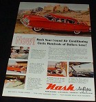 1954 Nash Ambassador Custom 2-door Sedan Ad!!
