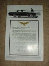 1962 Imperial Crown Southampton Ad, Banking!!