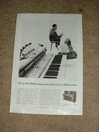 1958 Steinway Professional Piano Ad, NICE!!