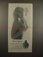 1966 Corday Perfume Ad - A sheath of silky fragrance!