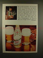 1969 Miller High Life Beer Ad w/ Al Hirt - Makes Right!