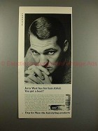 1969 Dep for Men Ad w/ Jerry West - You got a Beef?!
