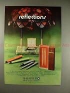 1970 Sheaffer Pen Ad - Guys 'n Dolls, Silver Imperial!!