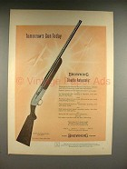 1957 Browning Double Automatic Shotgun Gun Ad!