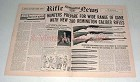 1958 Remington Model 740, 760, 725 Rifle Ad!