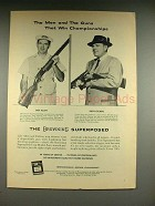 1958 Browning Superposed Trap Model Gun Ad!