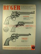 1958 Ruger Blackhawk, Bearcat, Single-Six Revolver Ad