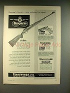 1959 Husqvarna Lightweight Rifle Ad - Europe's Finest