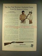 1959 Browning Double Automatic Shotgun Ad!