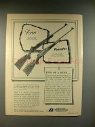 1959 Firearms International FI Vixen, Forester Rifle Ad