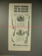 1961 H&R M-14 Army Automatic Rifle Ad!