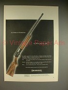 1961 Browning Automatic Shotgun Ad - Made of Substance