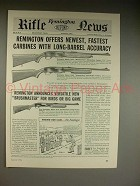 1961 Remington 742C, 760C Rifle, 870 Shotgun Ad