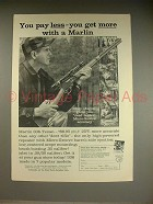 1962 Marlin 336-Texan Rifle Ad - Pay Less, Get More