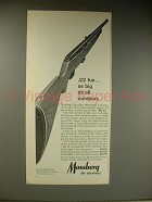1963 Mossberg Model 352K Rifle Ad - Big as Outdoors