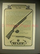 1963 Ruger RS Rifle Ad - Brush-Country Deer