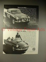 1964 MG MGB Car Ad - This is the MGB