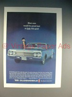 1965 Oldsmobile Dynamic 88 Car Ad - Look Good!