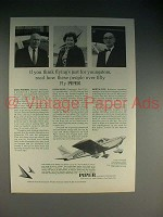 1965 Piper Cherokee Airplane Ad - People Over Fifty