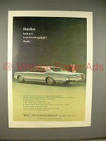 1965 Oldsmobile Starfire Car Ad - Look At It!