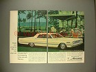 1966 Mercury Car Ad - Once Compared With Other Cars