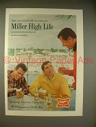 1966 Miller High Life Beer Ad - People Are Asking For