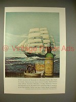1966 Cutty Sark Scotch Whisky Ad - Scores of Brands
