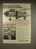 1966 Hawker Siddeley DH125 Jet Aircraft Ad!