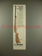 1966 Savage 6-P Rifle Ad - Be Careful Who You Lend To