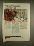 1966 Remington Model 742 Rifle Ad - Powerful!