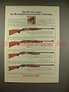 1966 Remington Model 700, 742, 870, 1100 Rifle Ad