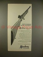 1966 Mossberg Model 144LS Rifle Ad - Accuracy