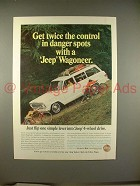 1966 Jeep Wagoneer Ad - Twice the Control!