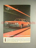 1966 Oldsmobile 442 4-4-2 Car Ad - Swinging Excitement