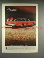 1966 Oldsmobile Cutlass Sports Coupe Car Ad!
