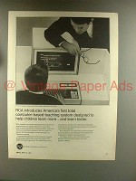 1967 RCA Computer Ad - First Total Teaching System