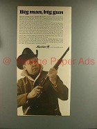 1967 Marlin 39 Rifle Ad - Big Man, Big Gun!